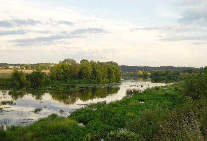 Москва-река берет начало на