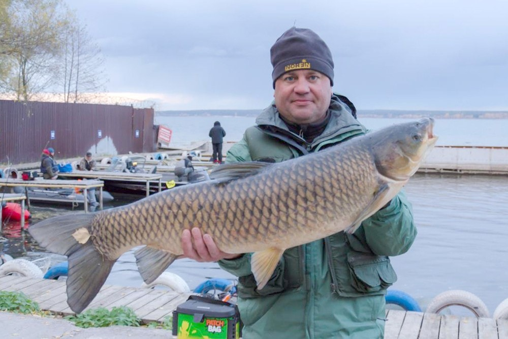 На Матырском море прошёл чемпионат Липецкой области по рыбалке
