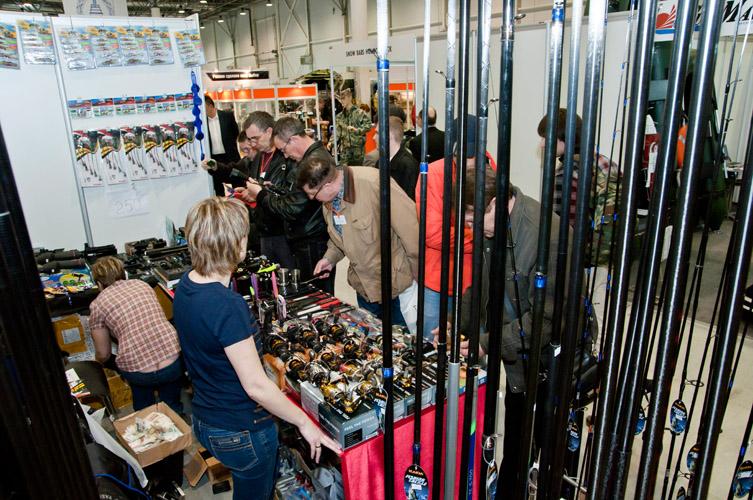 Стартовала выставка охота и рыбалка
