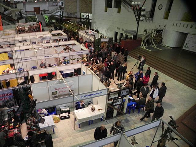 12-я межрегиональная специализированная выставка-ярмарка «Охота. Рыбалка»
