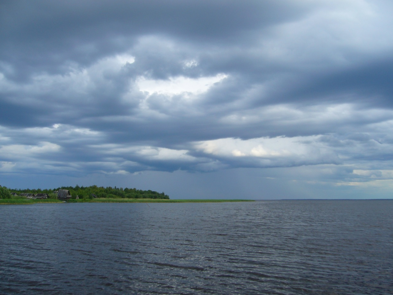 вологодские рыбаки озеро воже