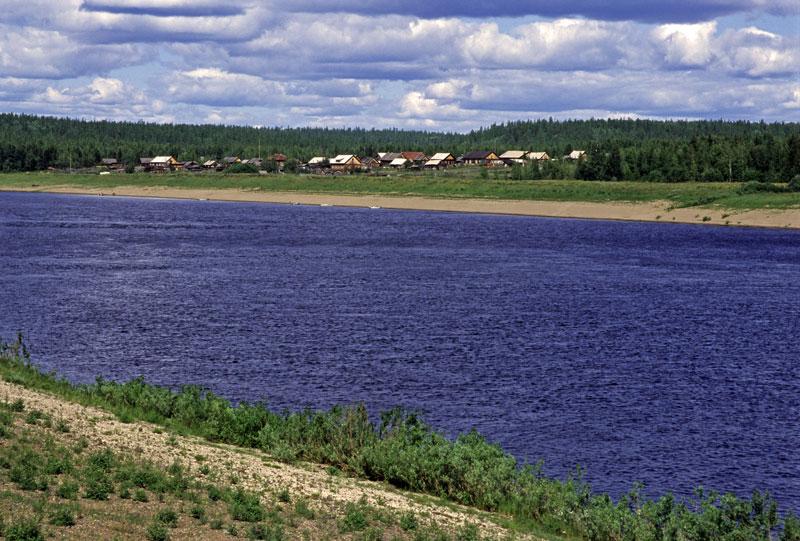 Фотография реки Подкаменная Тунгуска
