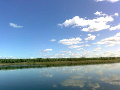 Река Тасеева