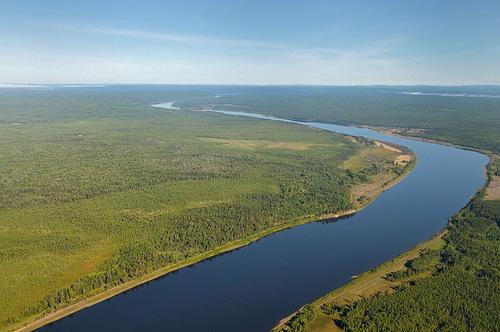 Фотография реки Тасеева