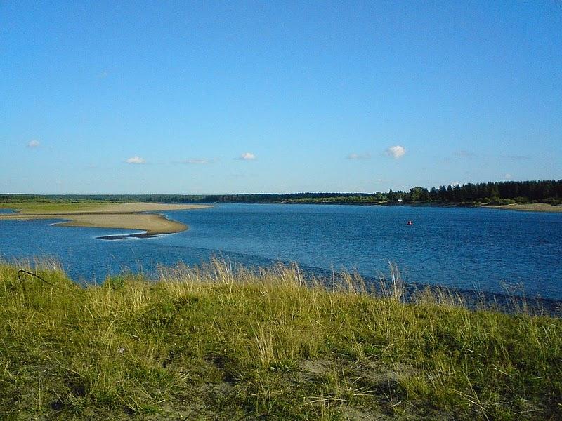 Фотография реки Вычегда