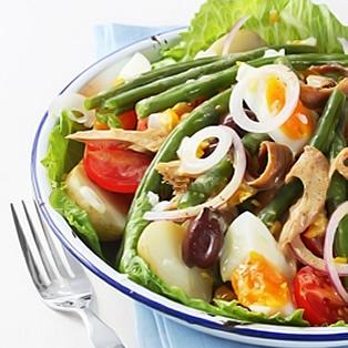 рецепты салата из рыбы