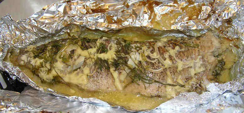 Как приготовить щуку с картошкой в фольге в духовке рецепт