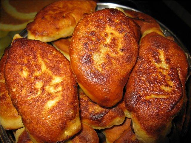 рецепт приготавления пирожков