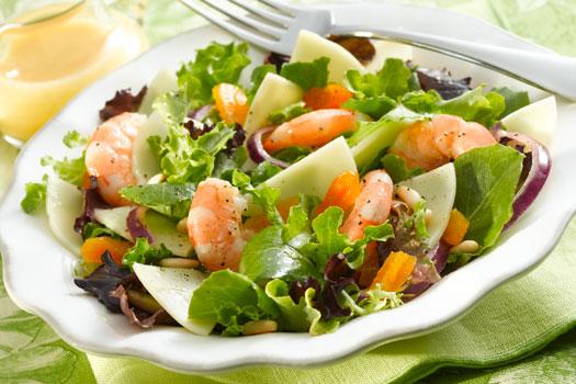 салат с морепродуктами ассорти рецепт
