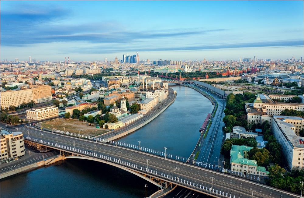 Карта Москвы Спутниковая