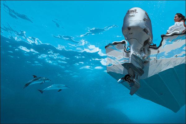 Особенности современных подвесных четырехтактных лодочных двигателей
